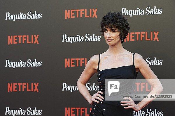 Paz Vega attends 'Paquita Salas' Netflix Series Premiere at Callao Cinema on June 28  2018 in Madrid  Spain