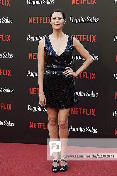 Barbara Santa-Cruz attends 'Paquita Salas' Netflix Series Premiere at Callao Cinema on June 28  2018 in Madrid  Spain