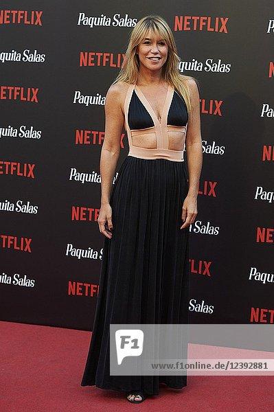 Raquel Merono attends 'Paquita Salas' Netflix Series Premiere at Callao Cinema on June 28  2018 in Madrid  Spain