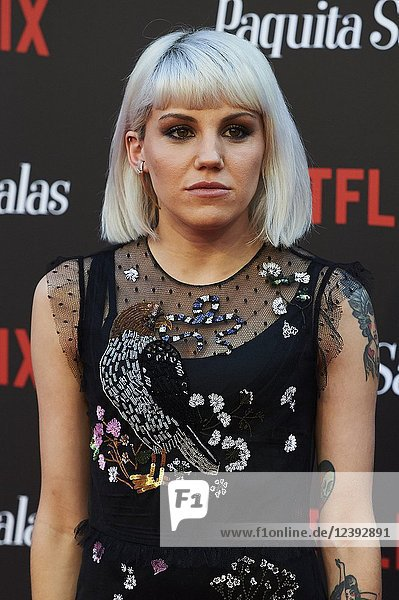 Angie attends 'Paquita Salas' Netflix Series Premiere at Callao Cinema on June 28  2018 in Madrid  Spain