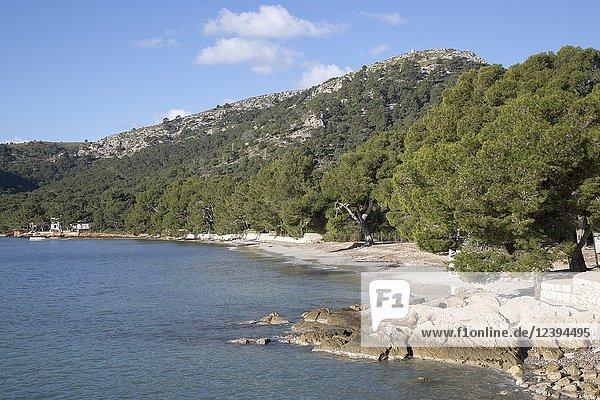 Formentor Beach  Majorca  Spain.