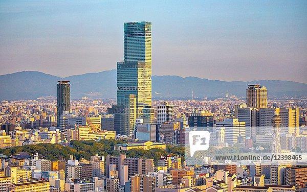 Japan  Osaka City  Tennoji Area  Abeno Harukas Tower.