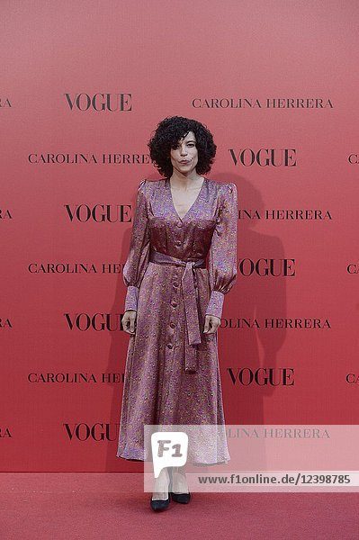 Irene Visedo attends Vogue 30th Anniversary Party at Casa Velazquez on July 12  2018 in Madrid  Spain