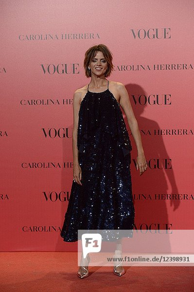 Macarena Gomez attends Vogue 30th Anniversary Party at Casa Velazquez on July 12  2018 in Madrid  Spain