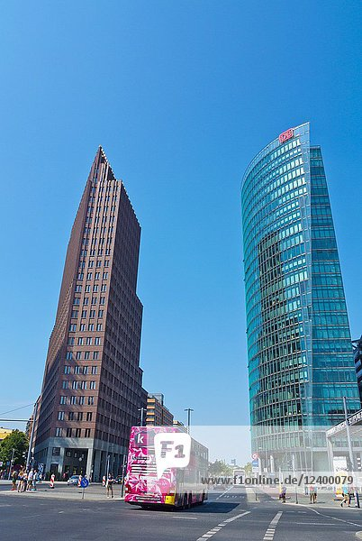 Potsdamer Platz  Berlin  Germany.