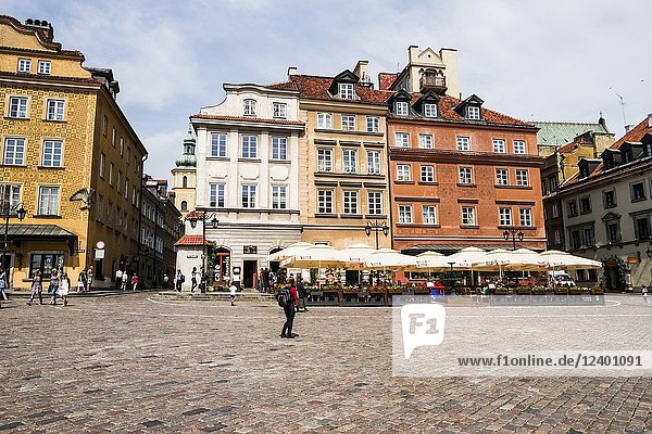Old Town. Castle Square. Warsaw  Poland  Europe.