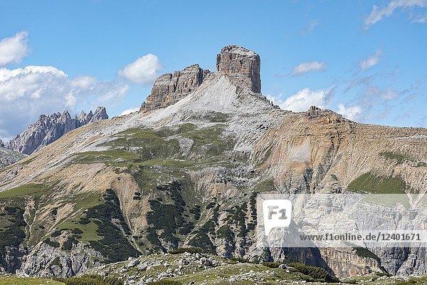 Torre dei scarperi  Dolomites  Veneto  Belluno  Sexten  Italy  Europe.