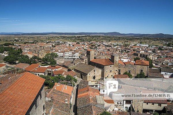 Trujillo  a small town in Extremadura  Spain.