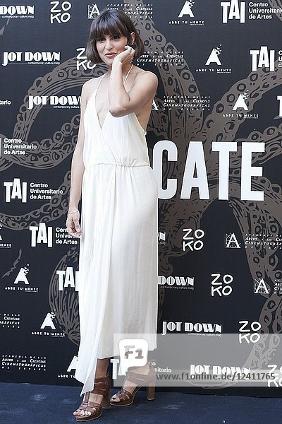 Veronica Echegui attends 'Tocate' premiere at Academia de Cine on July 23  2018 in Madrid  Spain.