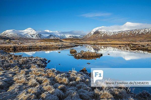 Rannoch Moor  Argyll and Bute  Scotland  United Kingdom  Europe.