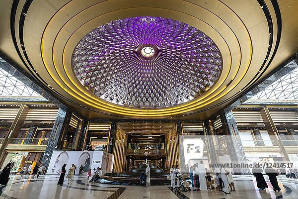 Interior the Prestige mall inside The Avenues shopping mall in Kuwait City  Kuwait.