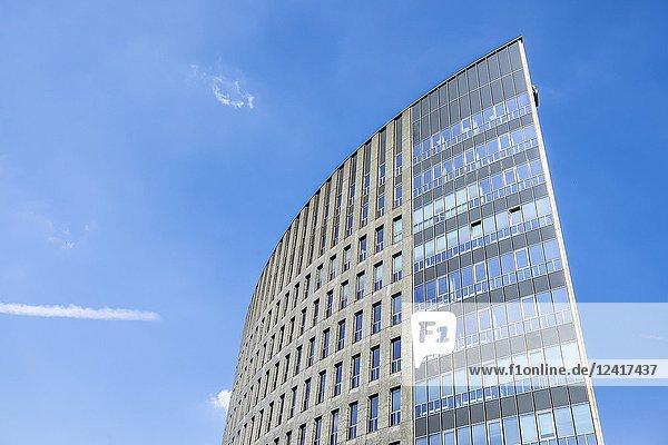 Rabobank building in 's Hertogenbosch  The Netherlands  Europe.
