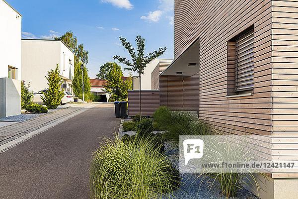 Germany  Esslingen-Zell  development area with passive houses