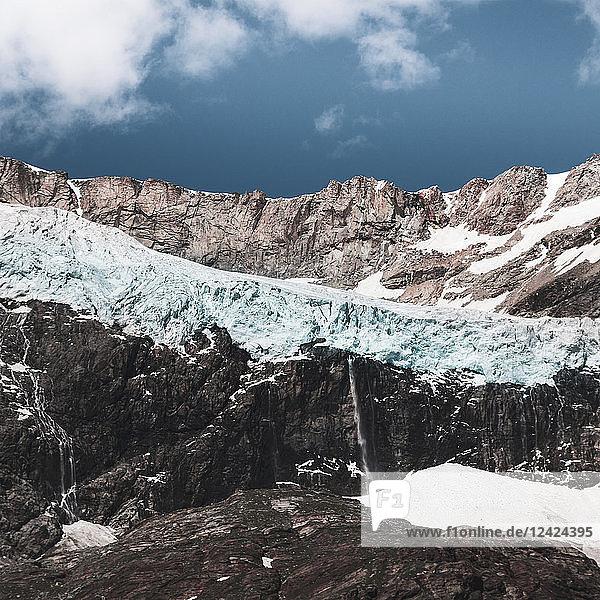 Italy  Lombardy  Lanzada  Fellaria glacier