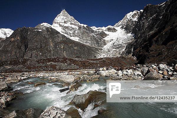 Kyashar  Solukhumbu  Nepal  Himalayas  Asia