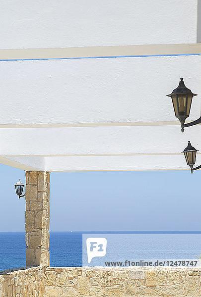 Balkon am Meer in Latchi  Zypern