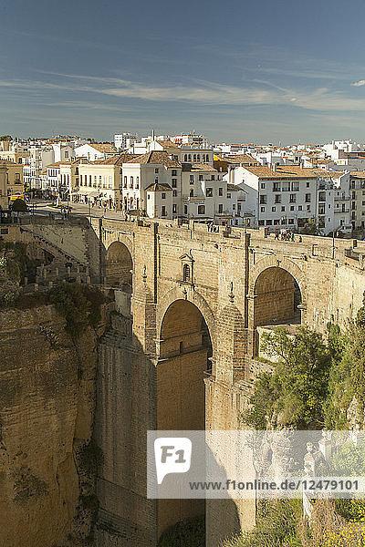 Puente Nuevo bridge in Ronda  Spain