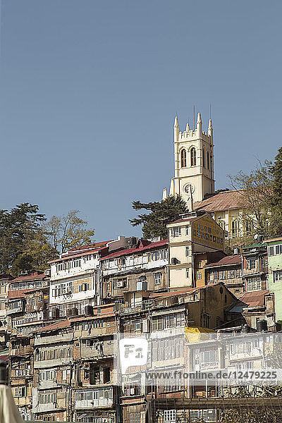 Gebäude in Shimla  Indien