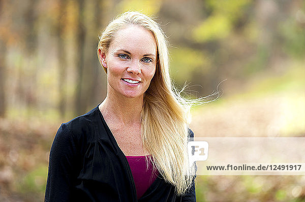 Portrait Of Beautiful Smiling Woman In Alabama  Usa
