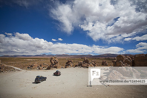The Salar de Uyuni is the world's largest salt flat and home to one of the largest deposits of lithium in the world. The communities surrounding this region could potentially benefit greatly or suffer with the development and extraction.