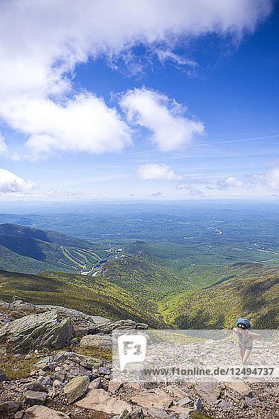 Hiking White Mountains