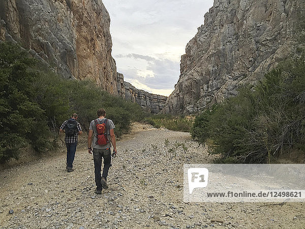 Exploring remote canyons in Big Bend National Park.