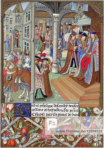 Charles the Bold  Duke of Burgundy  15th century. Artist: Unknown