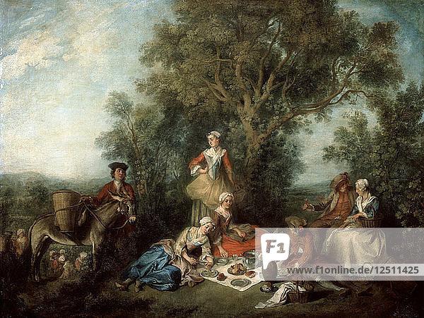 The Autumn  1738. Artist: Nicolas Lancret