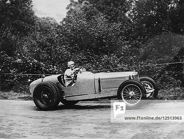 Kay Petre driving a Riley  Autumn Hill Climb  Shelsley Walsh  Worcestershire  1935. Artist: Unknown