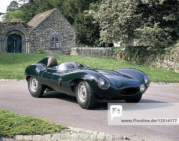 1954 Jaguar D Type. Artist: Unknown