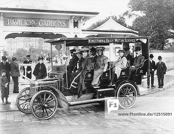 1906 Albion A3 12-seater charabanc  (c1906?). Artist: Unknown