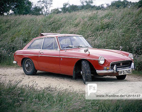 1971 MGB GT. Artist: Unknown