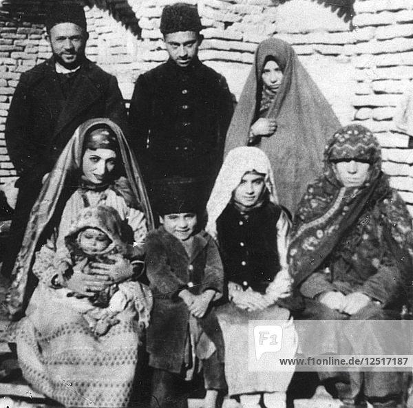 Afghan Jews  c1961. Artist: Unknown