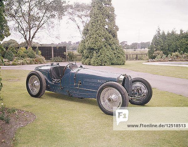 A 1934 Bugatti. Artist: Unknown