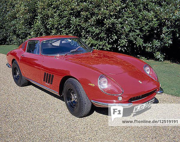 A 1966 Ferrari 275 GTB. Artist: Unknown