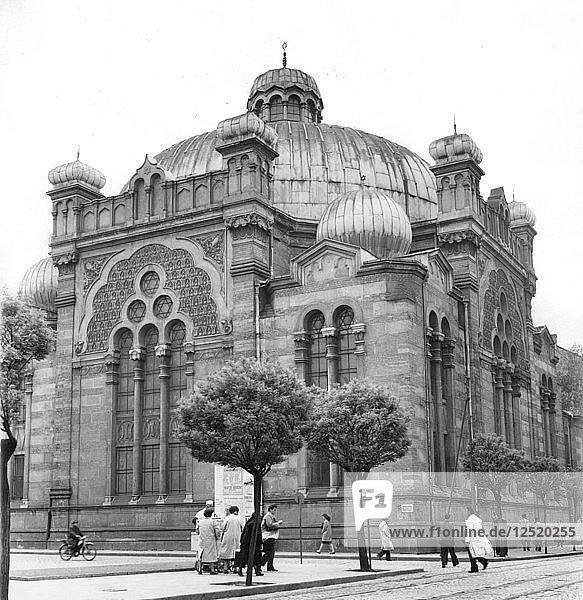 Synagogue  Sofia  Bulgaria  1959. Artist: Unknown