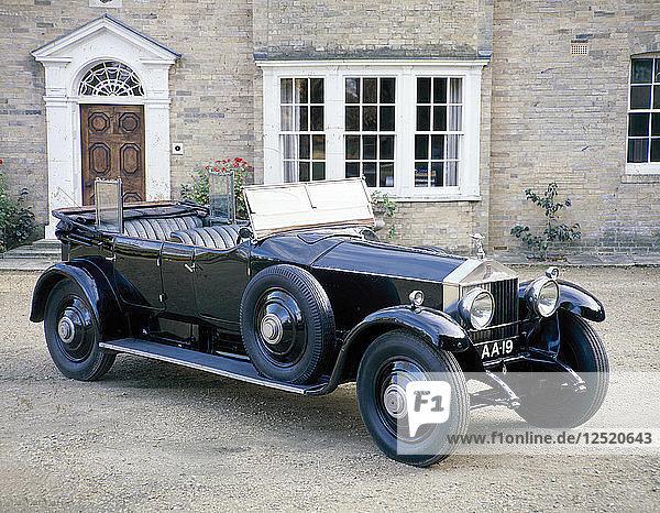 A 1925 Rolls-Royce Phantom I. Artist: Unknown