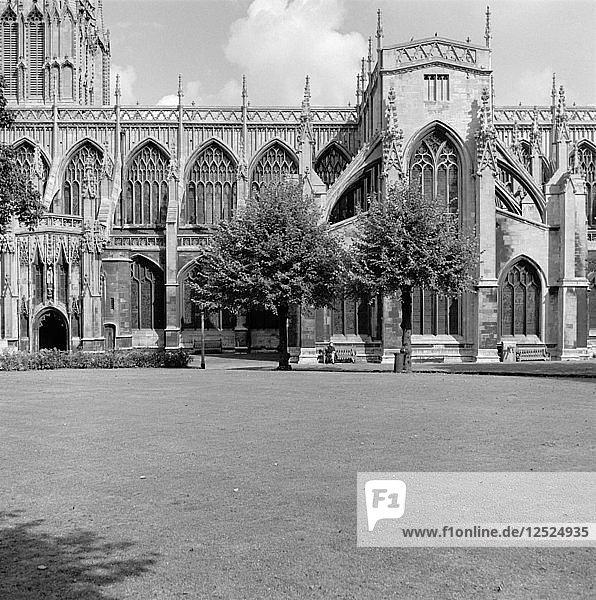 St Mary Redcliffe Church  Bristol  1945. Artist: Eric de Maré