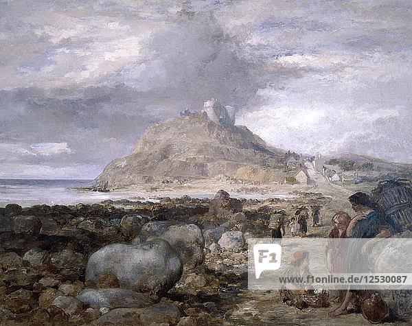 Criccieth Castle  Wales  1878. Artist: Sir John Gilbert