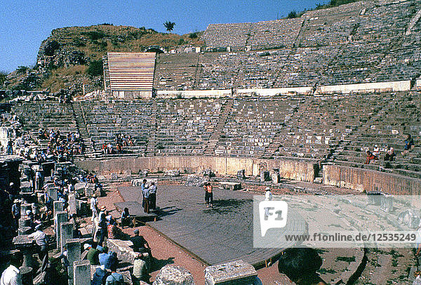Roman Theatre  41-54 AD. Artist: Unknown