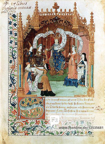 Louis XI  15th century. Artist: Unknown