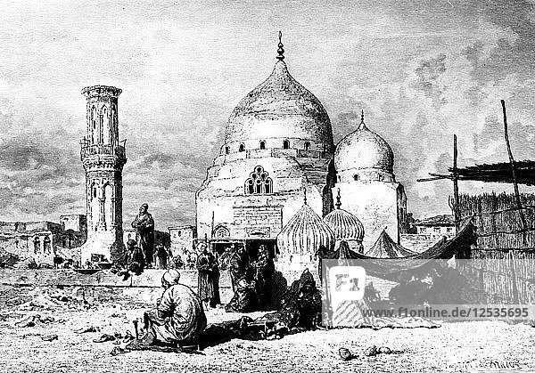 Saint Ibrahim Mosque  Dessouk  Egypt  1880. Artist: Unknown