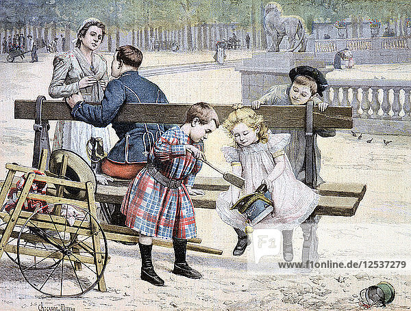 Each Age has its Pleasures,  1895. Artist: Unknown