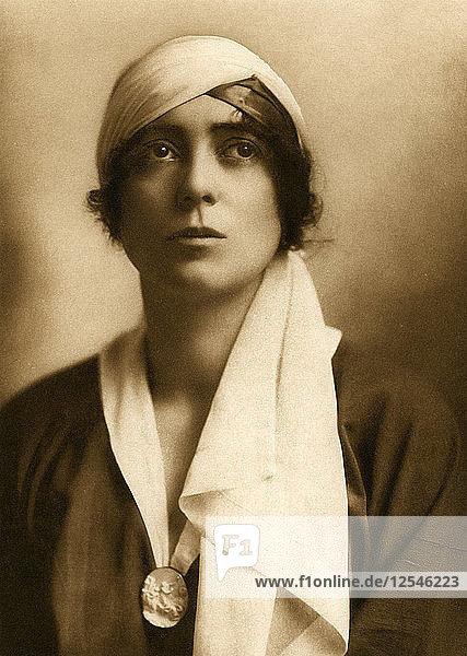 Lady Constance Stewart Richardson  c1913.Artist: White Studios
