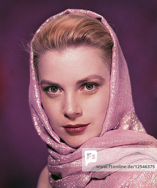 Grace Kelly  Academy Award-winning American film and stage actress. Artist: Unknown