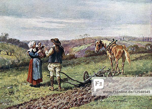 A Scene in Brittany  1902-1903. Artist: Unknown