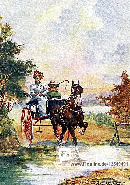 A Smart Turn-out  1902. Artist: Arthur JC Rolfe