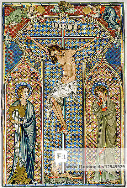 Crucifixion  early 14th century. Artist: Unknown