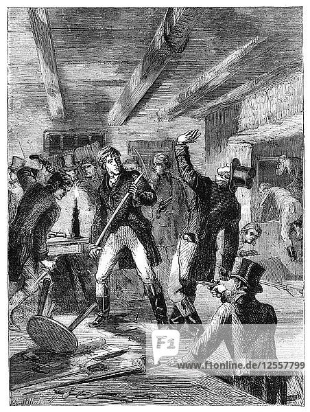 The arrest of the Cato Street conspirators  1820 (c1895). Artist: Unknown