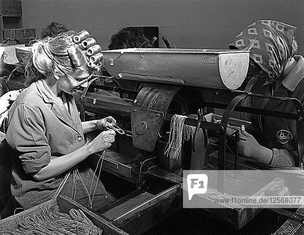 Detonator production  ICI plant  Denaby Main  South Yorkshire  1962. Artist: Michael Walters